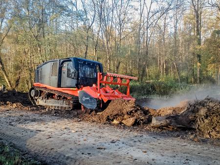 Forstmulchen – Hager Umwelttechnik